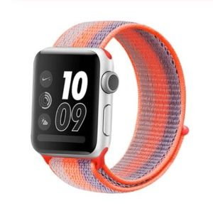 *❤️NEW Orange Sport Loop Strap For Apple Watch